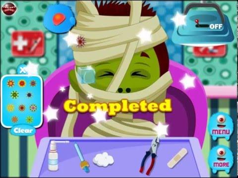 NEW Мультик онлайн для девочек—Сумасшедший доктор монстр 2—Игры для детей