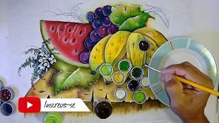 Roberto Ferreira – Aprenda a Pintar Uvas e folhas