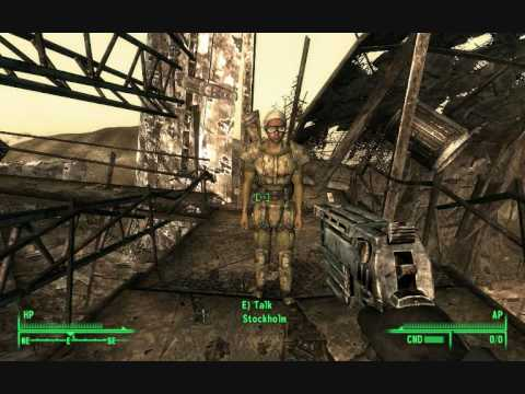Fallout 3: Easter egg - Stockholm the sniper - YouTube