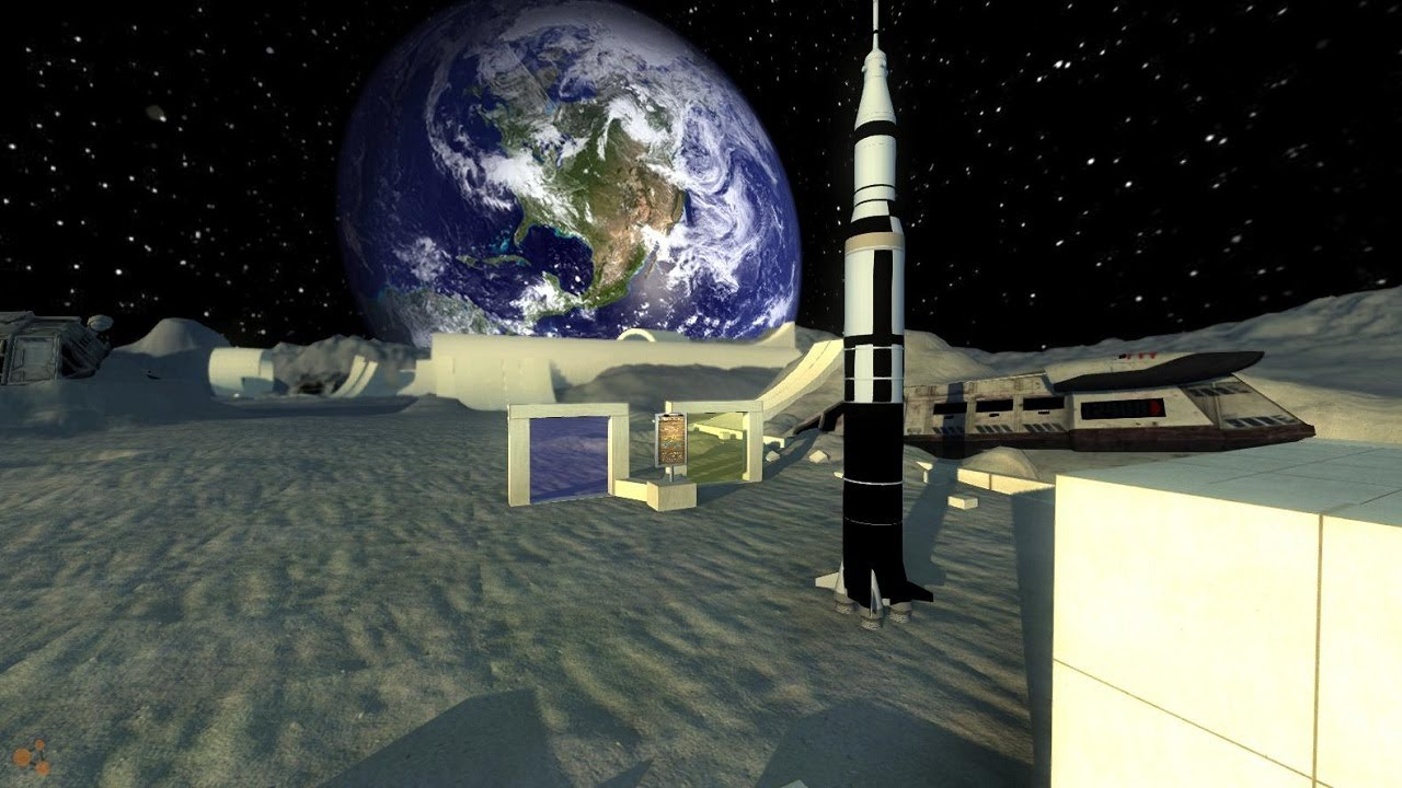 BeamNG.Drive Alpha - NASA Space Rocket With Working ...