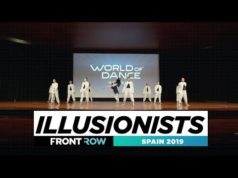 ILLUSIONISTS  | FRONTROW | TEAM | World Of Dance Spain 2019 | #SPAIN