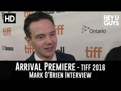 Mark O'Brien Arrival Premiere   TIFF 2016