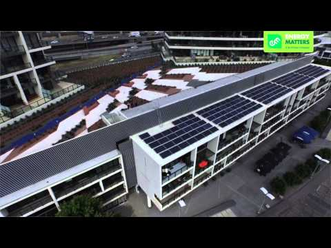 Yarra's Edge Towers Solar Power Project - Melbourne Victoria