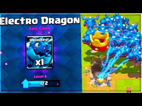 ELECTRO DRAGON CHALLENGE FIRST TRY in Clash Royale!
