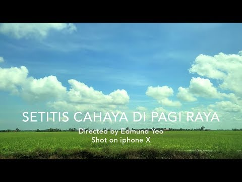Faizal Tahir and Aziz Harun - Setitis Cahaya Di Pagi Raya (Shot on iphone X)