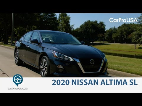 2020 Nissan Altima SL Review