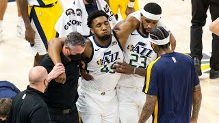 Donovan Mitchell Injury, Jazz Survive Pacers in 4th! 2020-21 NBA Season