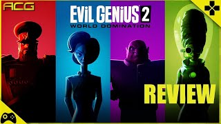 Evil Genius 2 World Domination Review