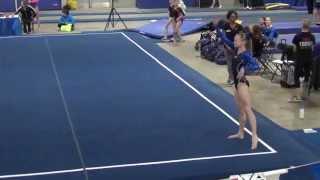 Taylor Jensen Level 9 Floor Salto Invitational 2015