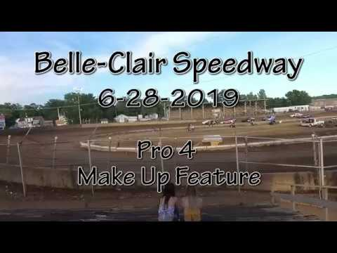 Belle Clair Speedway  Pro 4 Make Up Feature