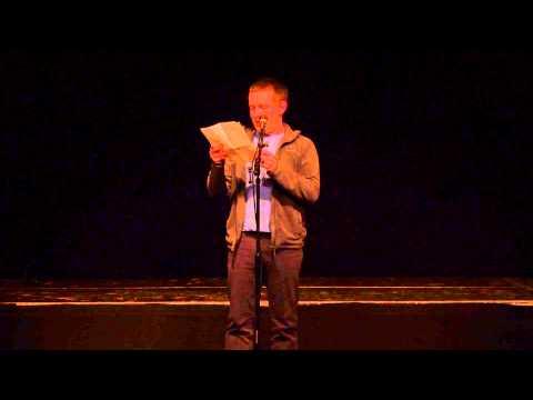 """Andreas Budzier: """"Scheiß doch drauf"""" - 23. Poetry Slam Weimar"""