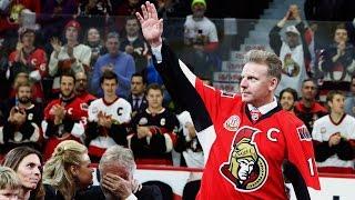 Gotta See It: Senators retire Daniel Alfredsson