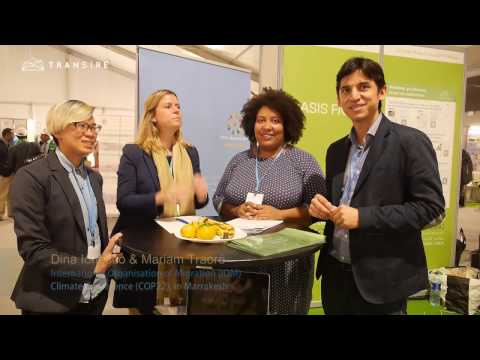 COP22 Talk with the International Organization for Migration (IOM)