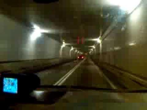 Holland Tunnel Through Manhattan