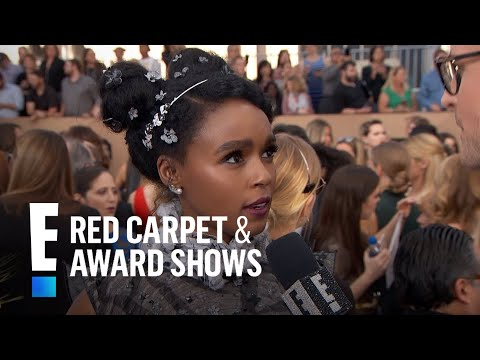 Janelle Monae Proud for 2017 SAG Awards Nominations   E! Live from the Red Carpet