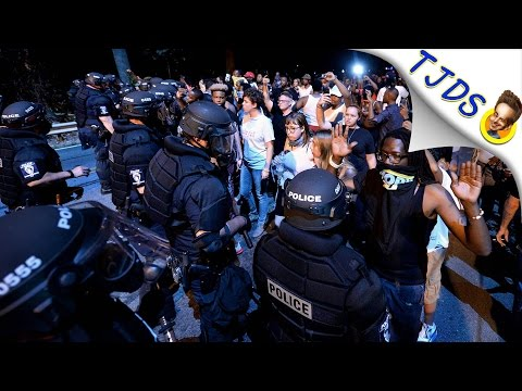 Police Caught Lying About Protestors In Charlotte North Carolina