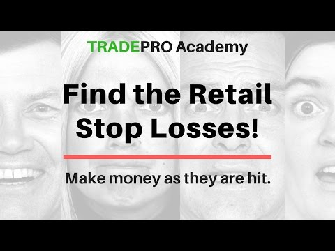 How to Find Retail Traders Stop Losses and Profit as They are Hit