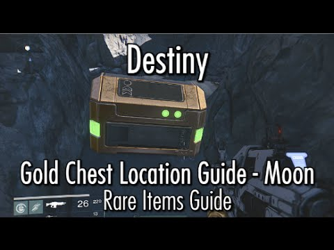Destiny gold chest loot locations moon rare items guide