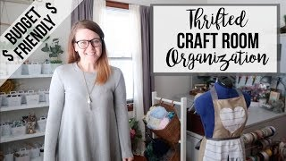 MY THRIFTED CRAFT ROOM | ORGANIZATION | FAVORITE PIECES 2019!!!