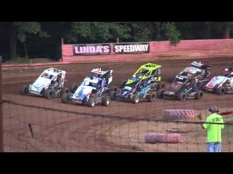 Linda's Speedway 600s Heat  7-13-18