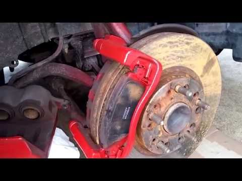 DIY Lexus iS GS300 Front Brake Pads and Rotors Replacement