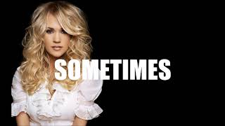 Sometimes (Carrie Underwood | Taylor Swift Type Beat) Prod. by Trunxks