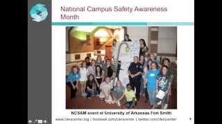 Making A Plan - Organizing Events And Activities For National Campus Safety Awareness Month