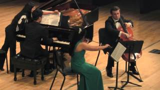Season 2014-15 JCM-OC Final Concert: Vorpal Trio – c minor, Op. 8 (Honors)