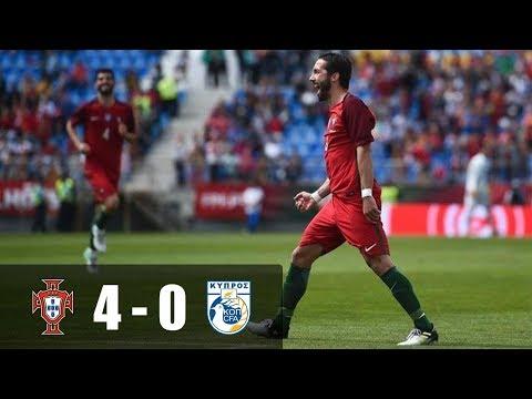 Πορτογαλία vs Κύπρος 4-0 Γκόλ και Στιγμιότυπα   Φιλικό  