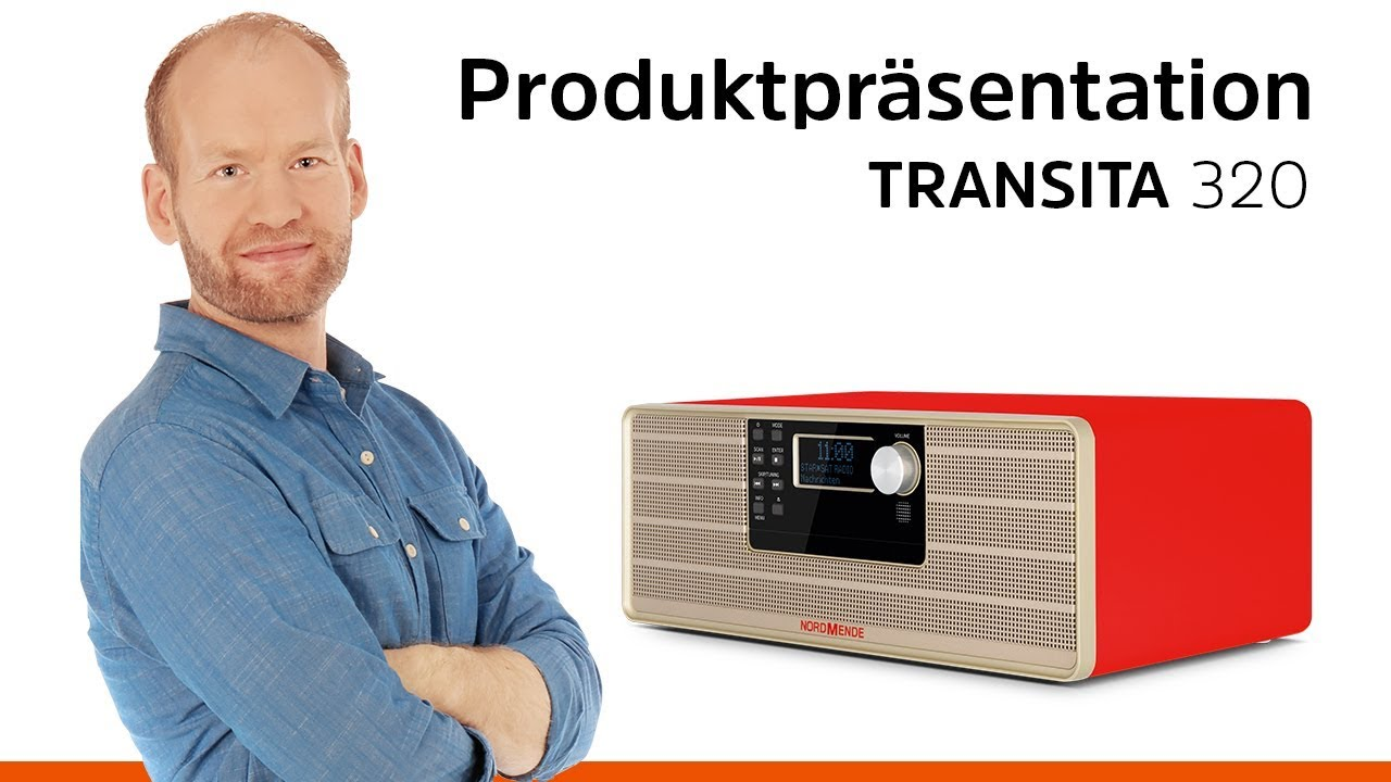 Video: TRANSITA 320 | Stereo Micro-System mit CD, Bluetooth und DAB+/UKW-Empfang. | Nordmende
