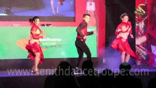 Salsa Dance Performance, Spanish, Zenith Dance Company New Delhi Mumbai India
