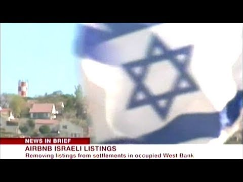 Airbnb Removes Israeli Settlement Listings In Occupied West Bank!