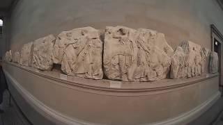 Elgin marbles in British Museum | VR360 Destinations
