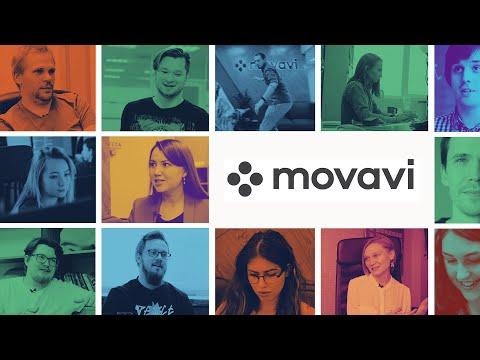 Работа в Movavi