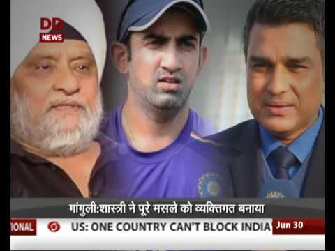 War of words between Sourav Ganguly and Ravi Shshtri deepens