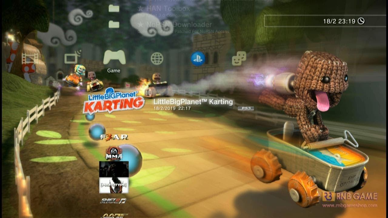 LittleBigPlanet Karting PS3 OFW HAN - PKG Part File - PlayStation Videos