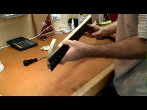 Part 11 - Aligning & Gluing The Fretboard to The Neck