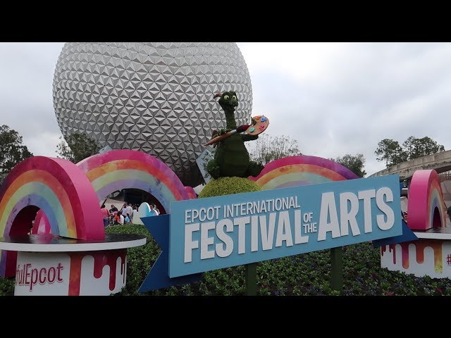 Disney World's International Festival Of The Arts 2018! | Food Reviews, Artist Highlights & Merch