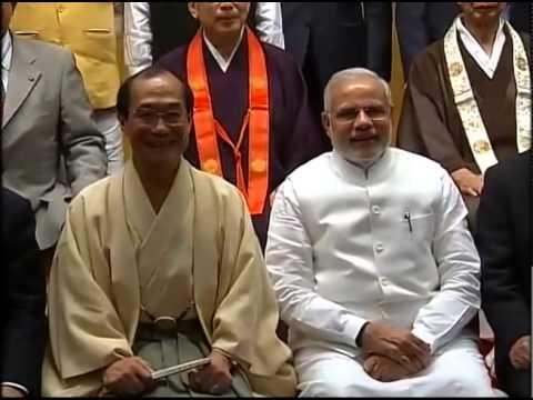 PM Modi with Kyoto Buddhist Association