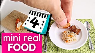 Miniature Cooking June Recipe | MINI FUNCTIONAL KITCHEN SET | ASMR REAL COOKING SOUND