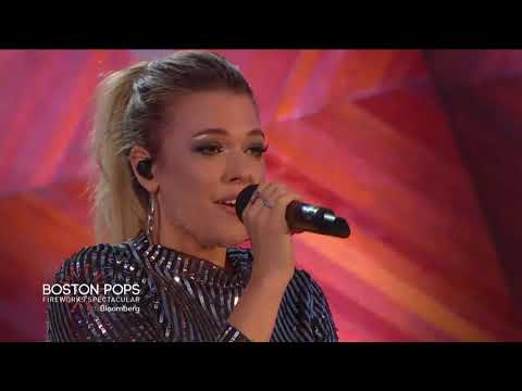 Rachel Platten - Stand By You, Better Place & Fight Song (2018 Boston Pops Fireworks Spectacular)