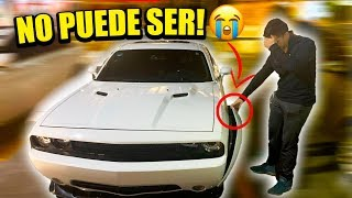 SE DESTROZO EL WIDEBODY DEL CHALLENGER SRT    ALFREDO VALENZUELA