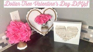 7 Diy Dollar Tree Valentines Decor Crafts Farmhouse Chic Deco