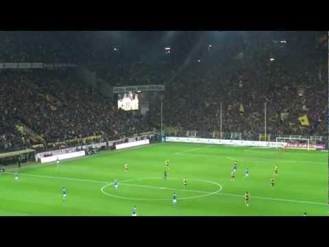 Tor Robert Lewandowski (16.,1:0)  Borussia Dortmund - FC Schalke 04 2:0 (1:0) - 26.11.2011