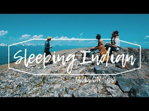 JACKSON HOLE | SLEEPING INDIAN