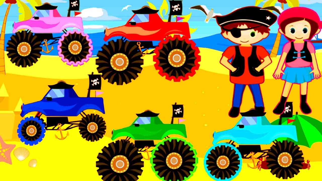 Monster Truck Games Online - Play Free Racing Games For Kids