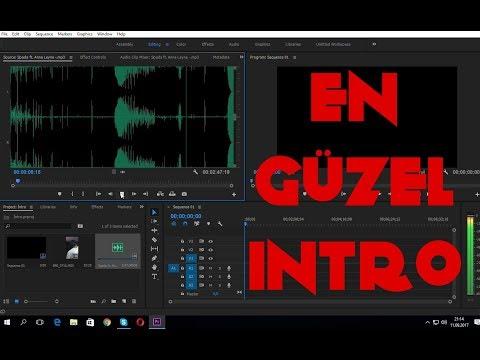 Adobe Premiere Pro'da Videolu Bir Şekilde İntro Yapma ( Detaylı Anlatım )