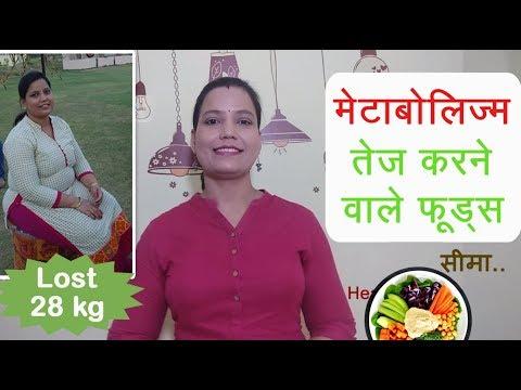 5 Metabolism Boosting Foods – Indian Vegetarian – By Seema [हिंदी]