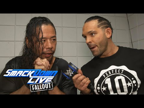 "Thumbnail: Tye Dillinger celebrates ""Perfect 10 Day"" with the locker room: SmackDown LIVE Fallout, Oct 10, 2017"