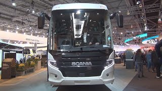 Scania Touring HD Euro 6 Bus (2019) Exterior and Interior